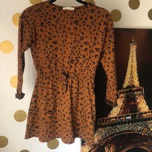 Zara Cheetah Print Dress